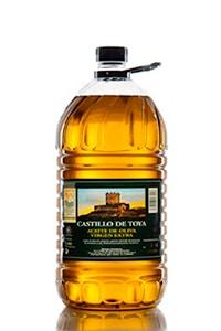 garrafa de 5L de aceite picual castillo de toya