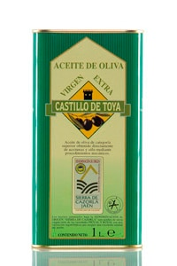 Aceite de oliva Castillo de Toya - Lata 1 litro